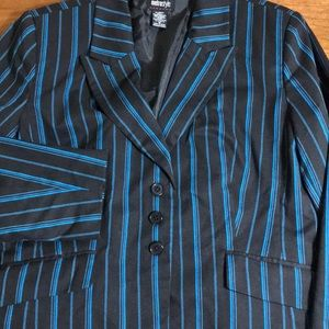 Metro style pinstripe blazer size 16